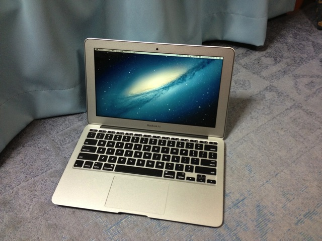 初Mac!MacBook Air mid 2013を買った!