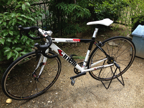 自転車旅行に向けてロードバイクのトレーニングを始めました!