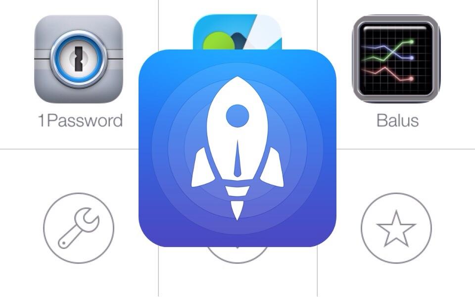 人気のランチャーアプリ「Launch Center Pro」がiOS 7に対応!カメラロールからアイコンを選択できるぞ!