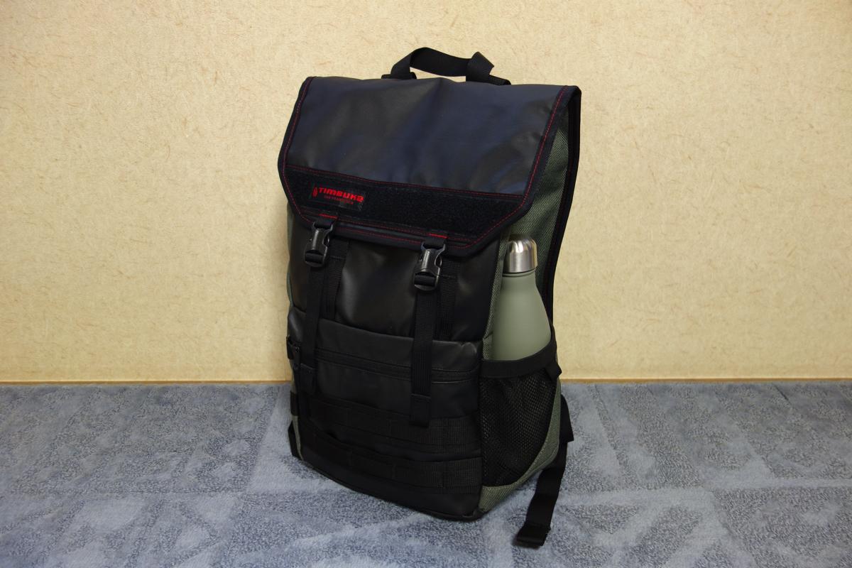 TIMBUK2のラップトップバッグ「Rouge BackPack」がコンパクトなのに大容量で使いやすい
