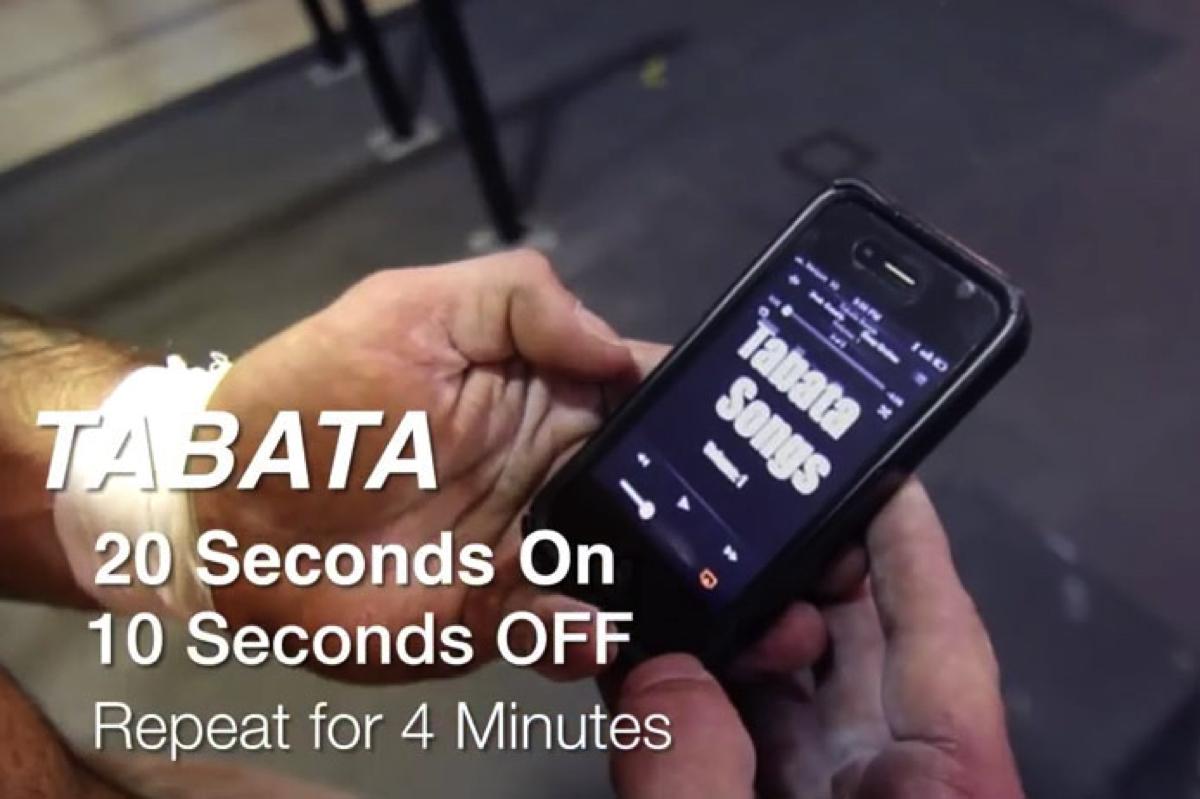 タバタ式トレーニング専用の曲「Tabata Songs」が快適でおすすめ