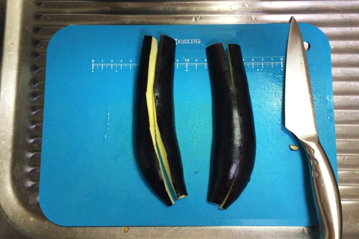 Eggplant keema curry 04