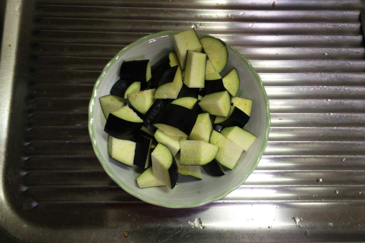Eggplant keema curry 06