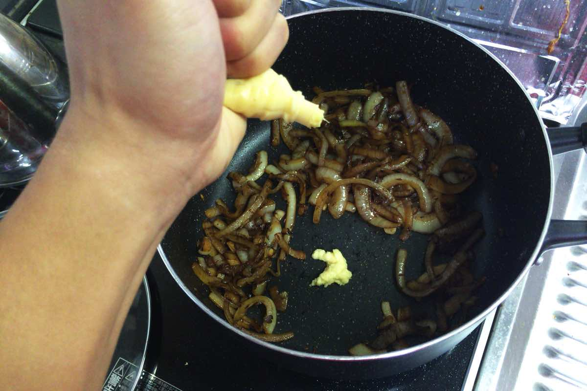 Eggplant keema curry 10