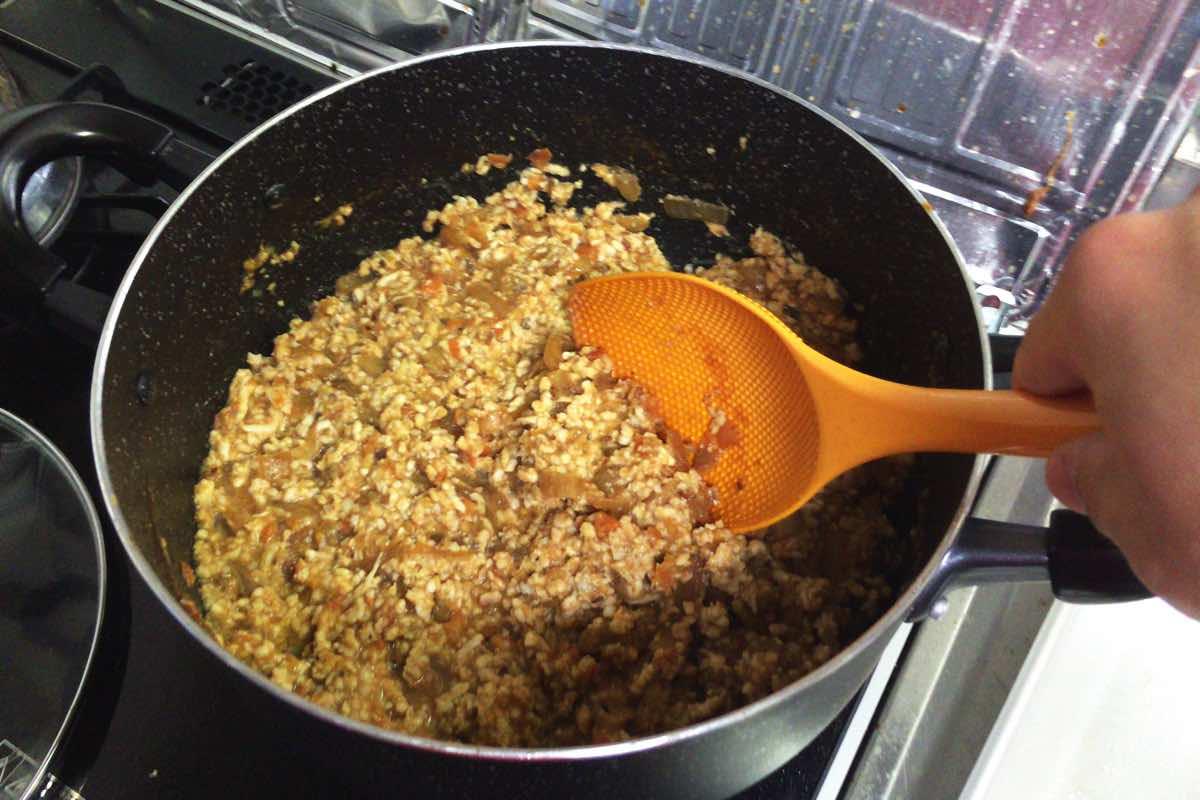 Eggplant keema curry 15