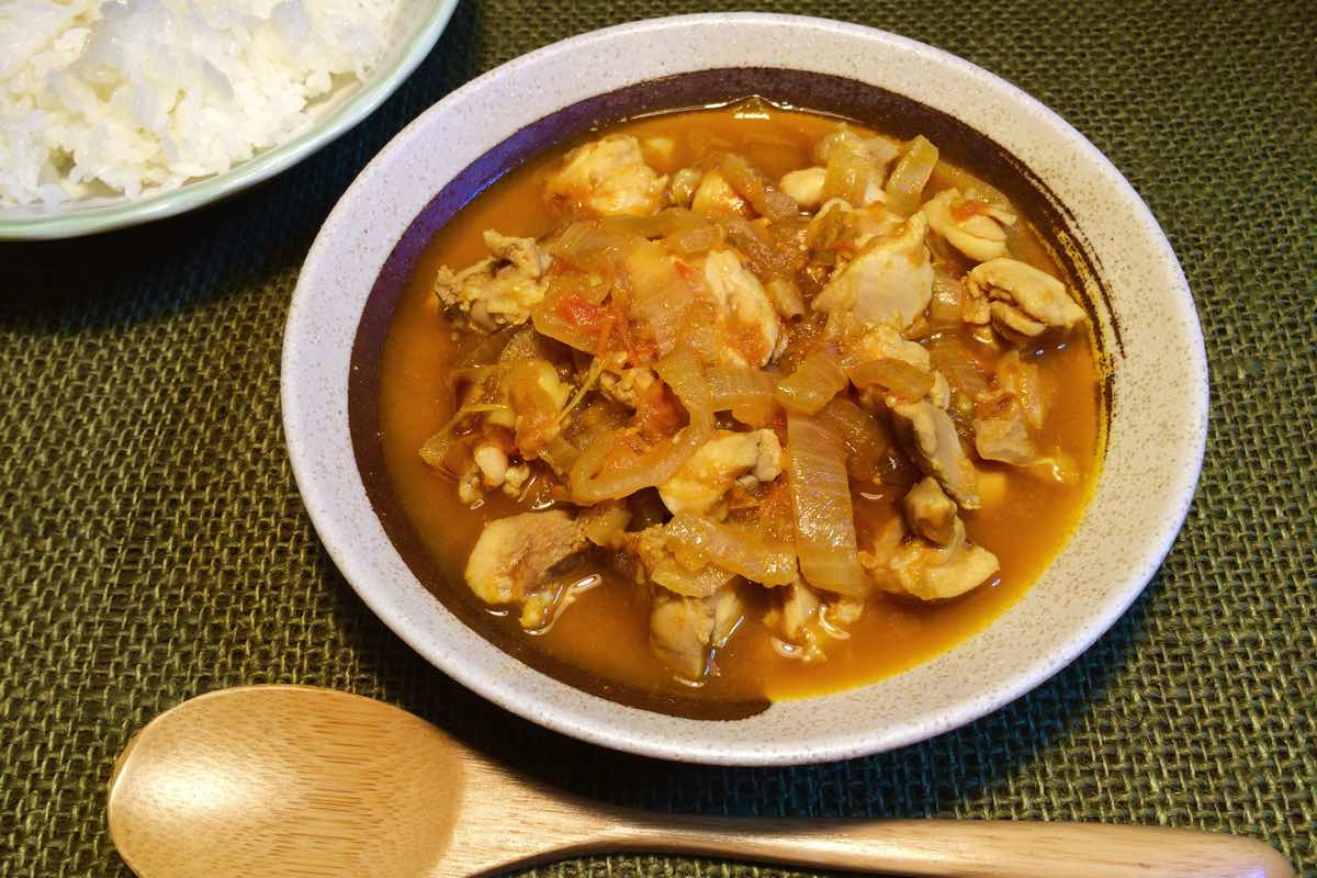 Spice chicken curry