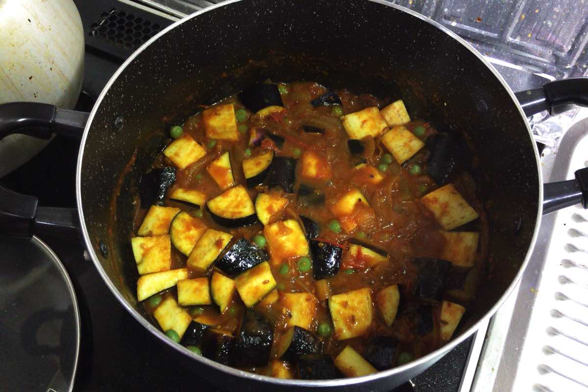 Summer vegetable curry 14