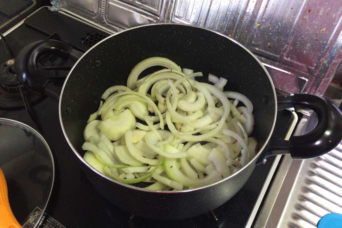 Bitter melon pork curry 07