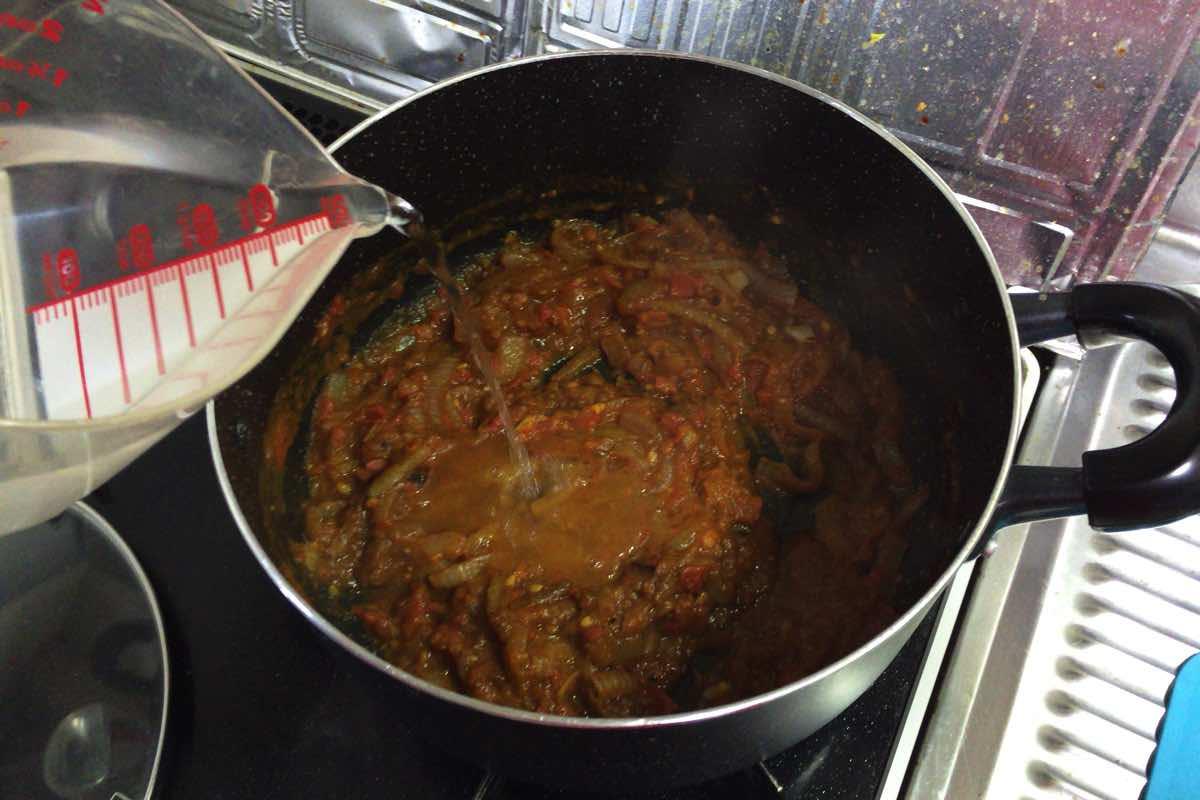 Bitter melon pork curry 12