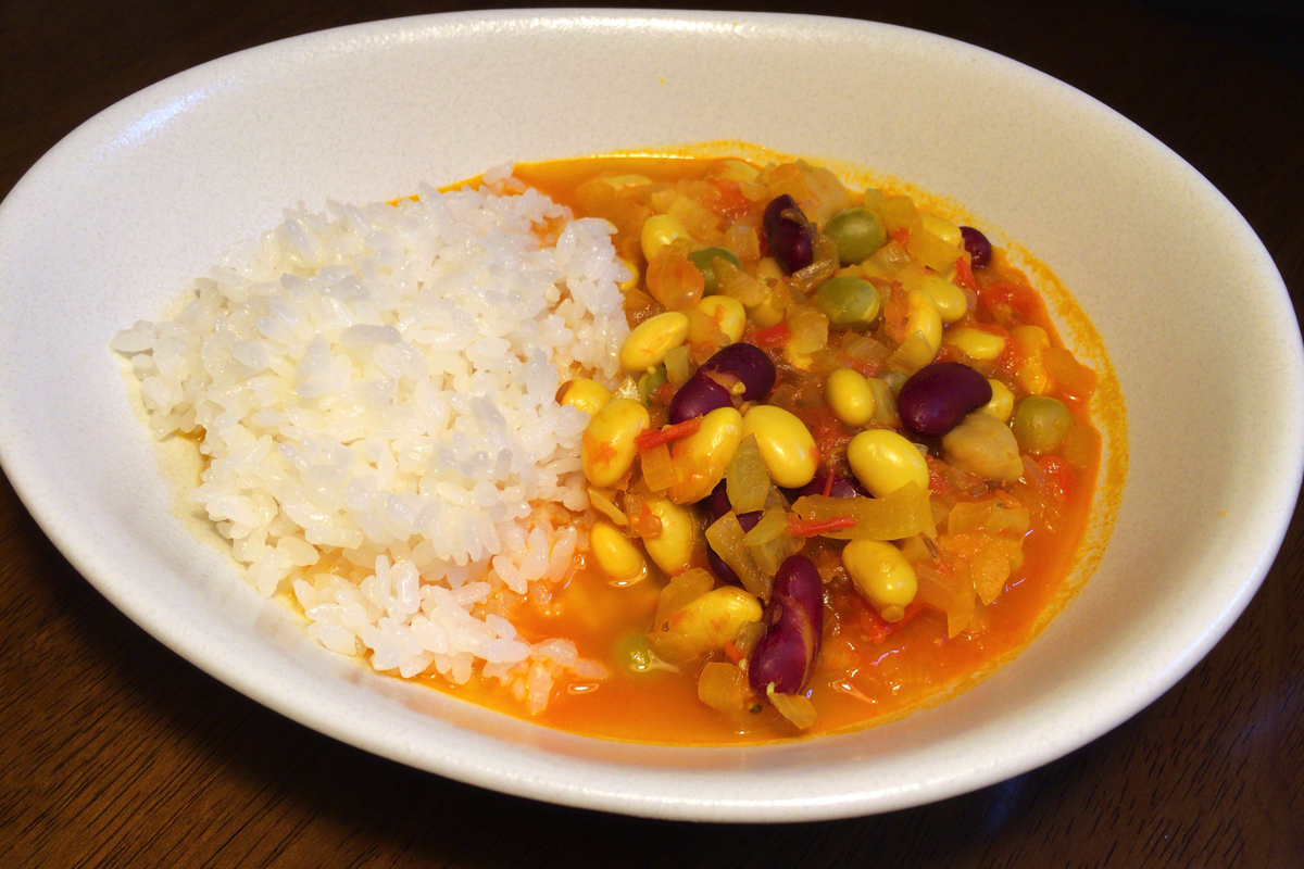 Mix beans curry