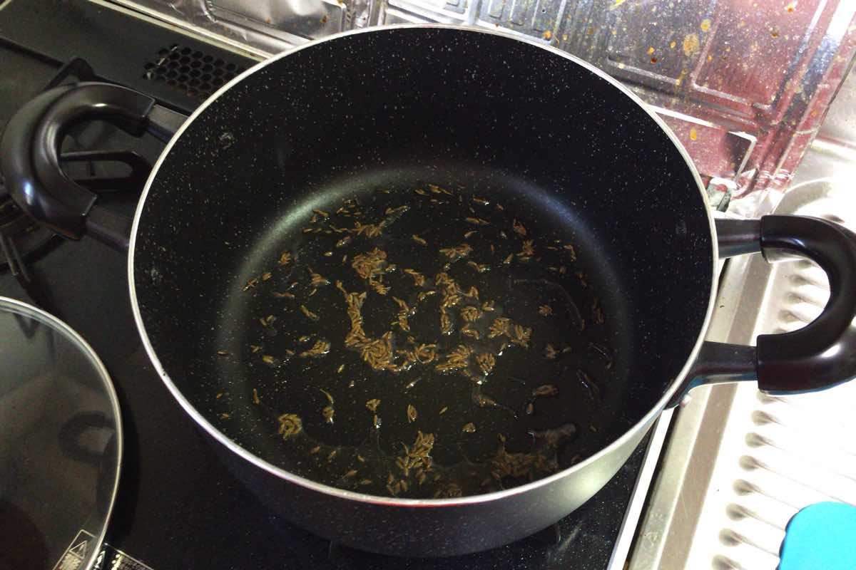 Zucchini keema curry 06