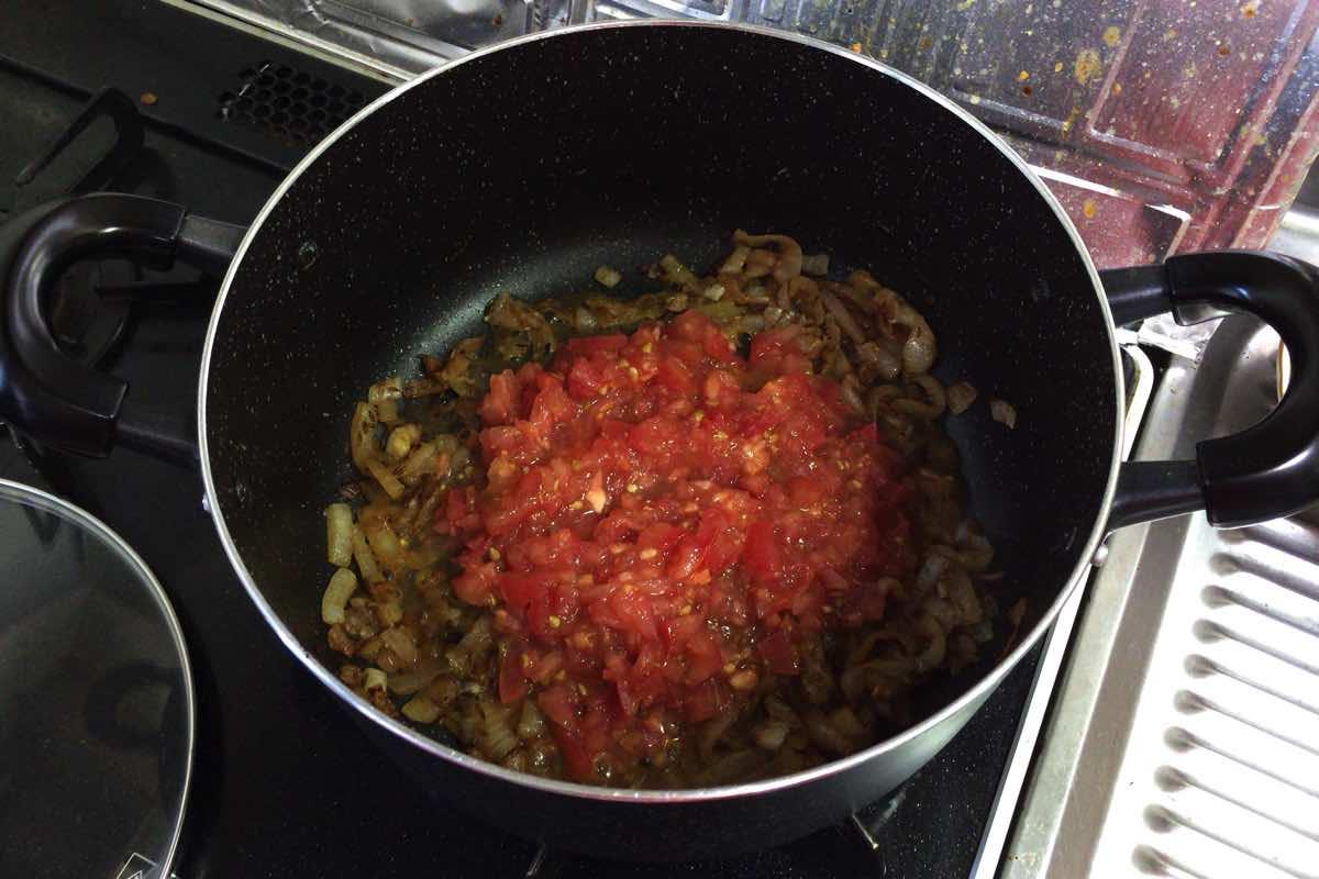 Zucchini keema curry 09