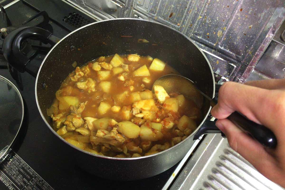 Tougan chicken curry 16