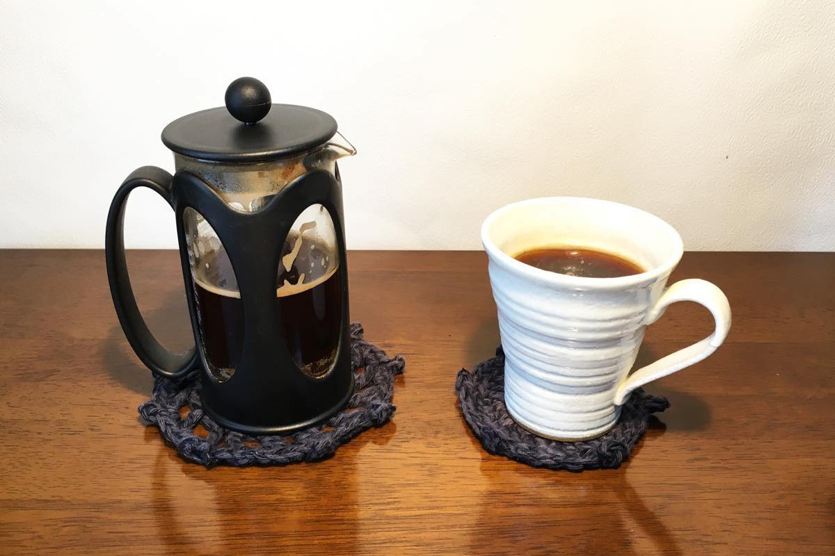 家で手軽に本格コーヒーが楽しめるフレンチプレス