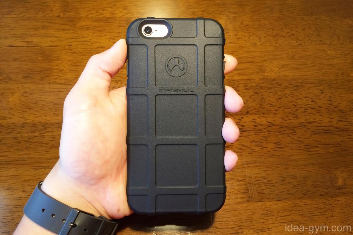 グリップ抜群のiPhone6/6s用 Magpulフィールドケース