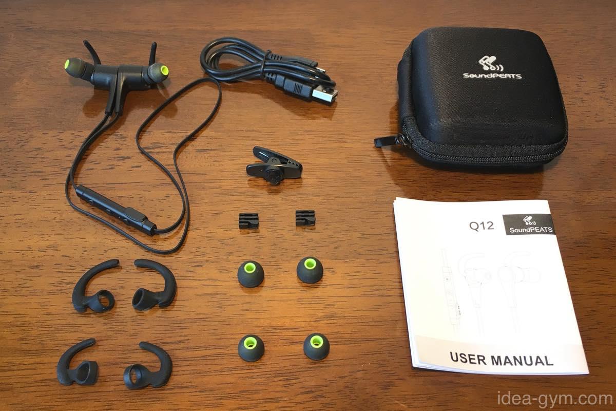 軽量・高音質のBluetoothイヤホン SoundPEATS Q12