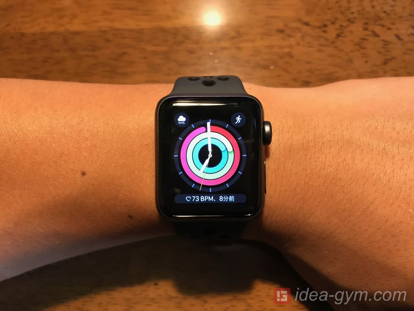 Apple Watchを使えば体づくりが楽しくなる